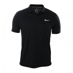 Polo Nike Court Dri Fit Para Tenis - Negro