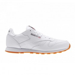 Tenis Reebok Classic Leather Blanco-Junior