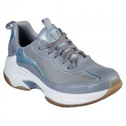 Zapatillas de Entrenamiento Skechers Savona Gris Para Mujer