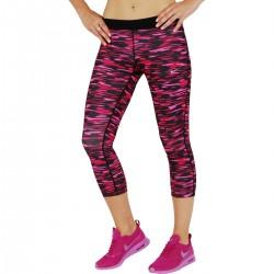 Licra Nike Capri Mujer Capri Dri Fit Fucsia-Negro