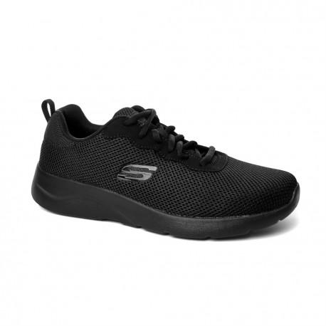 Plaga Púrpura comunicación  Tenis Skechers Dynamight 2.0 Para Hombre-Entrenamiento-Negro