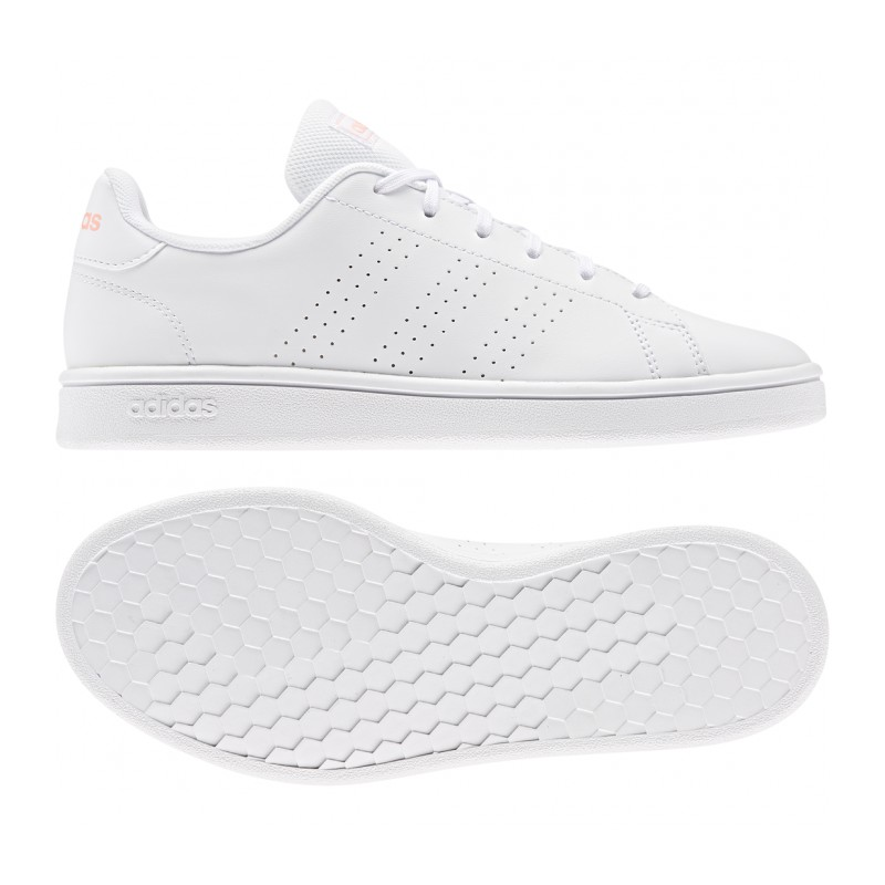 Tenis Adidas Advantage Base Para Mujer Color Blanco