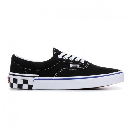 Zapatillas Vans Era Check Block Negro-Blanco