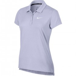 Polo Nike Court Dama Lila