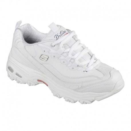 diseño popular estilos frescos claro y distintivo Tenis para Mujer Skechers D'Lites Blancos