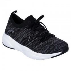 Tenis Skechers Meridian Flat Knit Negro Mujer