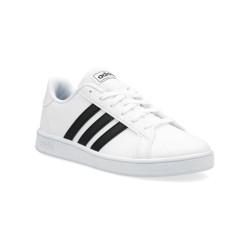 Tenis adidas Grand Court Niño Blanco-Negro