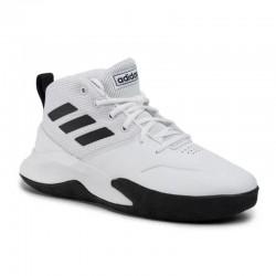 Tenis Para Baloncesto Adidas Ownethgame Blanco-negro