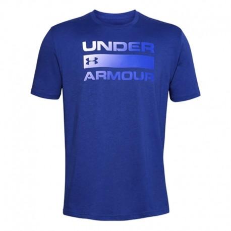Camiseta Para Entrenamientgo Under Armour Tech 2.0 Azul