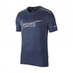 Camiseta Nike Breathe Running Azul