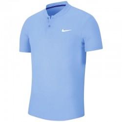 Camiseta Nike Court Dry Celeste
