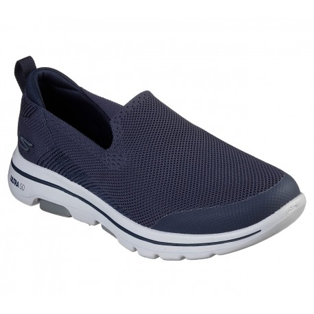 Zapatillas Skechers Casual Para Hombre Color Azul Marino