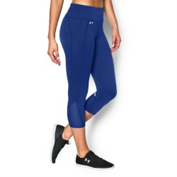 Licra Under Armour Fly By Run Dama Azul