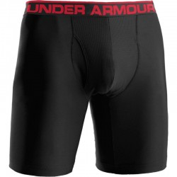 Boxer Under Armour.Heat Gear Negro-Rojo