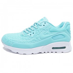 Tenis Nike Air Max 90 Ultra Plush Mujer Celeste