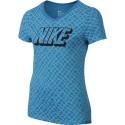 Blusa Nike Tee Niña Dri Fit Azul