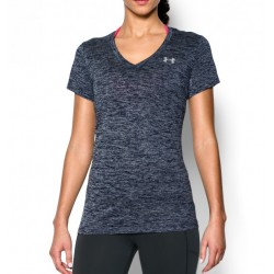 Blusa UA Dama Tech Twist Gris