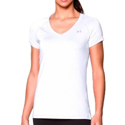 Blusa Under Armour Dama Heat Gear Blanco