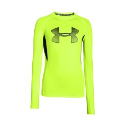 Buzo Under Armour Compression Niños Heat Gear Amarillo