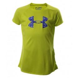 Blusa Under Armour Niña Big Logo Verde