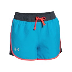 Short Under Armour Niña Heat Gear Celeste
