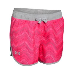 Short Under Armour Heat Gear Niña Rosado
