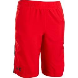 Pantaloneta Under Armour Edge Tech Niños Rojo