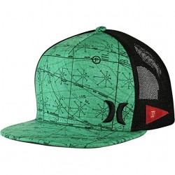 Gorra Hurley by Nike Hat Flex Malla Verde