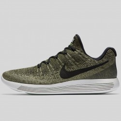 Tenis Nike Lunarepic Low Flyknit 2 Verde