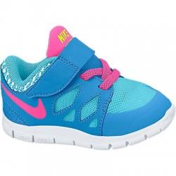 Tenis Nike Niñas Flex Celeste