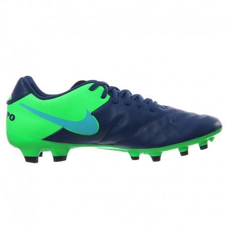 Guayo Nike Tiempo Fútbol Genio II Cuero Fg