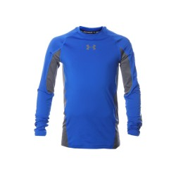 Buso Under Armour Compression Niño azul