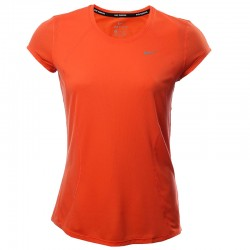Camiseta Nike Training para dama color naranja