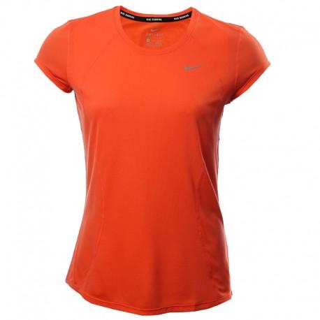 Camiseta Nike Training para dama color naranja