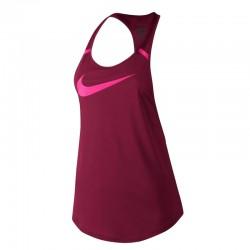 Blusa de Mujer Nike Esqueleto Vinotinto