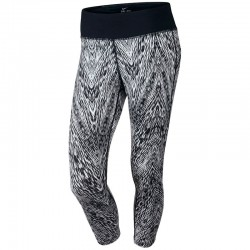 Licra Nike Dama Epic Tight Fit Printed Running Capri