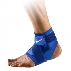 Tobillera Nike Pro Lesion Azul