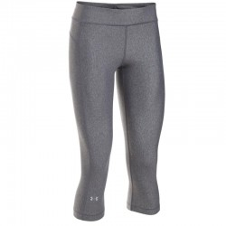 Licra Under Armour Capri Dama Gris