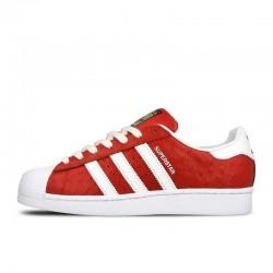 Tenis Adidas Superstar Rojo