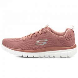 Tenis Skechers Dama Graceful Rosa