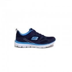 Tenis Skechers Dama Summits Azul