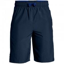 Pantaloneta Under Armour Level Niños Azul