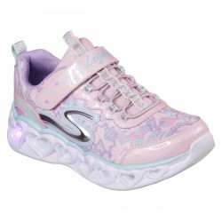Tenis Skechers Luces Niña Graphic Junior P